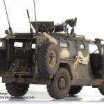012 Meng 1 35 GAZ 2330 Tiger