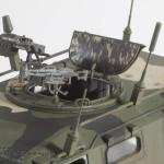 017 detail shot of the turret Meng 1 35 GAZ 2330 Tiger