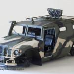 020 Camo painted by hand Meng 1 35 GAZ 2330 Tiger