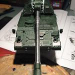 024 overview before painting Panzerhaubitze 2000 Revell 803042