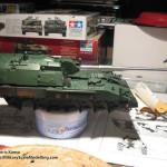 025 overview before painting Panzerhaubitze 2000 Revell 803042