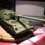 028 First camo colour applied Panzerhaubitze 2000 Revell 803042
