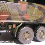 029 some weathering for making the truck looking used MAN 7t  milgl 6X6 Truck Revell 3081