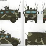 03 Tri colored camouflage GAZ 233014 STS Russian armored vehicle Meng VS 003 (By Boris Kamp)