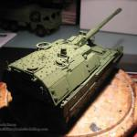 030 First camo colour applied Panzerhaubitze 2000 Revell 803042