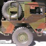 030 some weathering for making the truck looking used MAN 7t  milgl 6X6 Truck Revell 3081