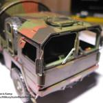 031 some weathering for making the truck looking used MAN 7t  milgl 6X6 Truck Revell 3081
