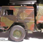 033 some weathering for making the truck looking used MAN 7t  milgl 6X6 Truck Revell 3081