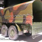 035 some weathering for making the truck looking used MAN 7t  milgl 6X6 Truck Revell 3081
