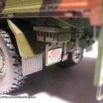 036 some weathering for making the truck looking used MAN 7t  milgl 6X6 Truck Revell 3081