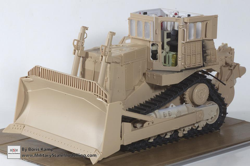 Dryfit of the current status (1:35 D9R Bulldozer Meng SS-002)