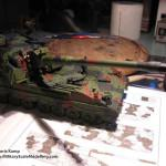 040 finished the camo pattern Panzerhaubitze 2000 Revell 803042