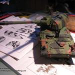 042 finished the camo pattern Panzerhaubitze 2000 Revell 803042