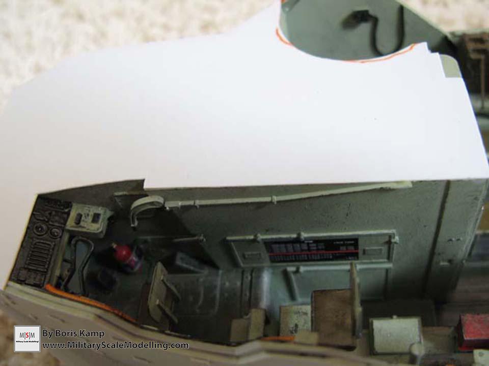 The Cockpit (AAVP-7A1 RAM RS HobbyBoss 82415)