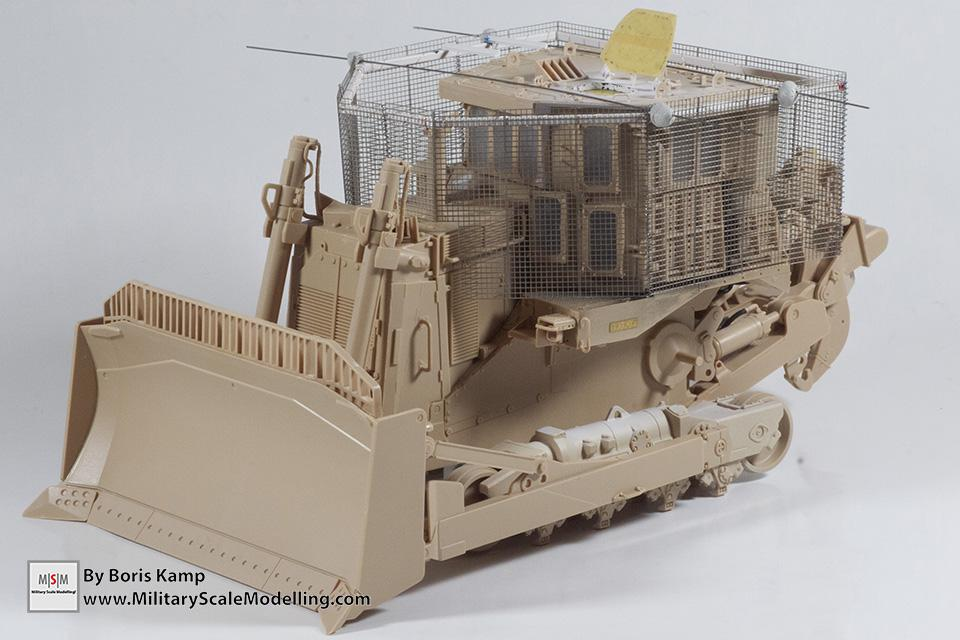 dryfit with hesco armor (1:35 D9R Bulldozer Meng SS-002)