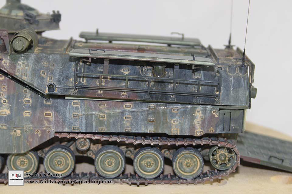 Added spilled fuel (AAVP-7A1 RAM RS HobbyBoss 82415)