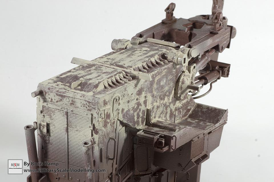 heavy chipping bottom sand(1:35 D9R Bulldozer Meng SS-002)