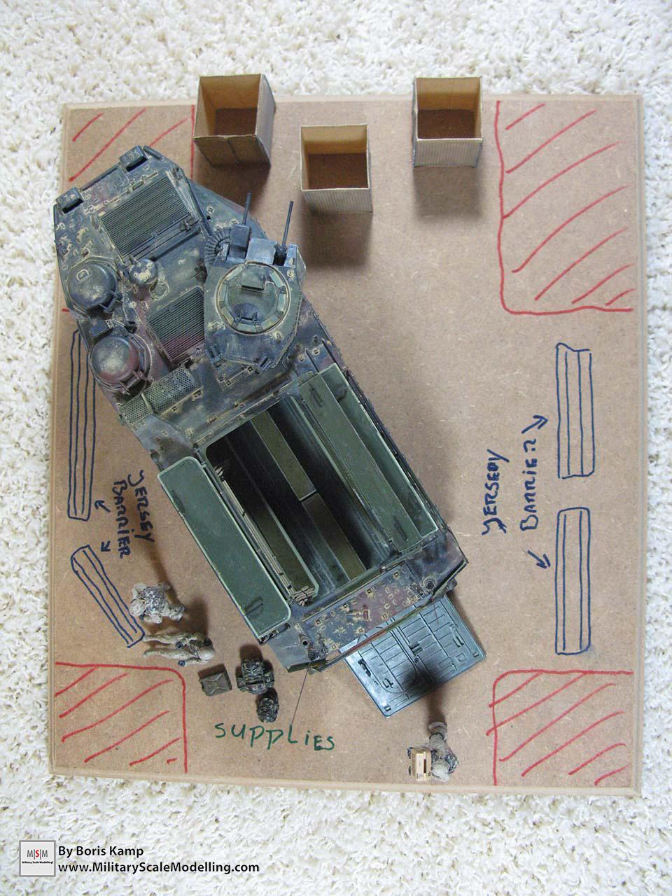 Diorama proposal (AAVP-7A1 RAM RS HobbyBoss 82415)