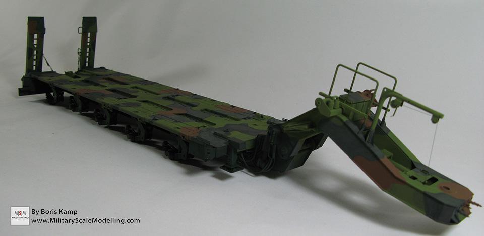 Woodland camo M1000 (M1070 Truck Transporter & M1000 HET)