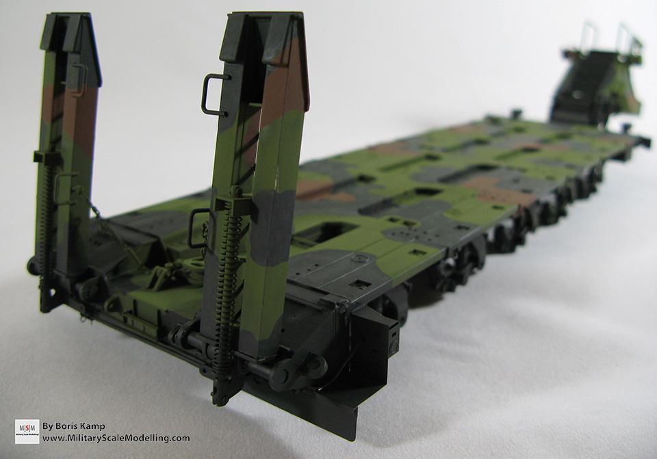 M1000 NATO camo (M1070 Truck Transporter & M1000 HET)