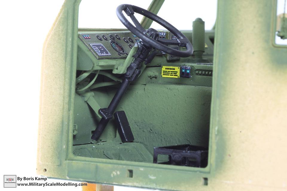 M1070 dashboard wiring (M1070 Truck Transporter & M1000 HET)