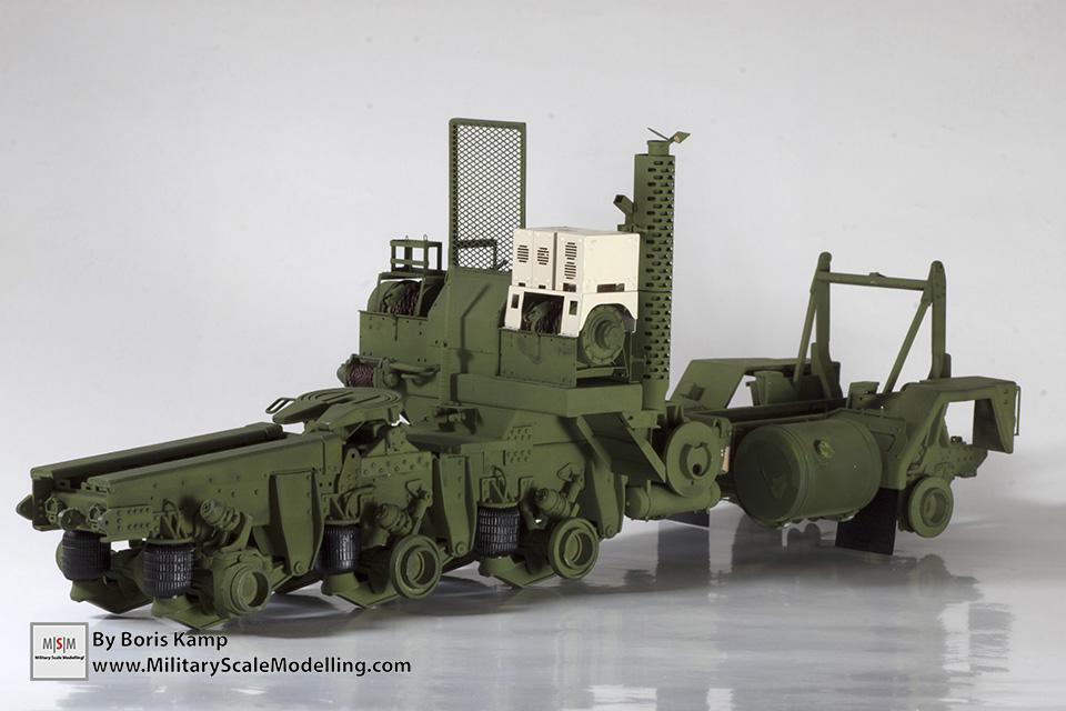 M1070 HET chassis (M1070 Truck Transporter & M1000 HET)