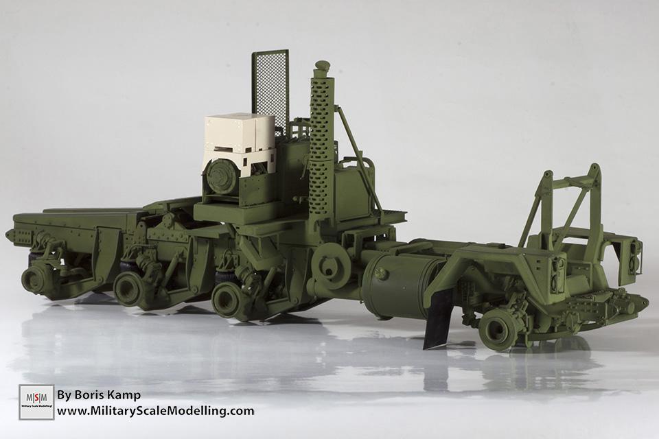 M1070 chassis(M1070 Truck Transporter & M1000 HET)