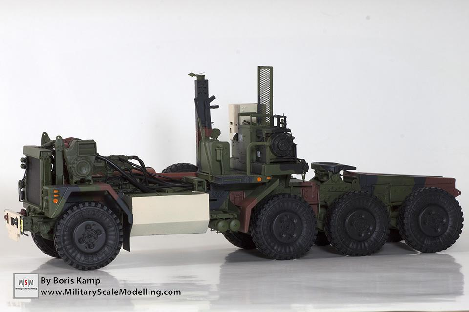 Chassis NATO painted (M1070 Truck Transporter & M1000 HET)