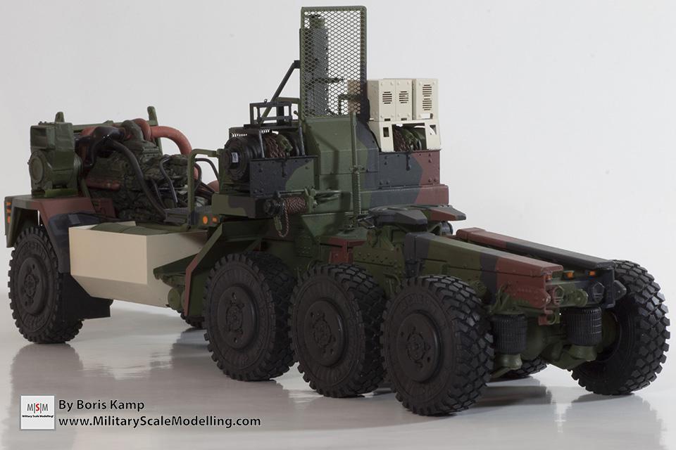 Rear M1070 chassis NATO (M1070 Truck Transporter & M1000 HET)