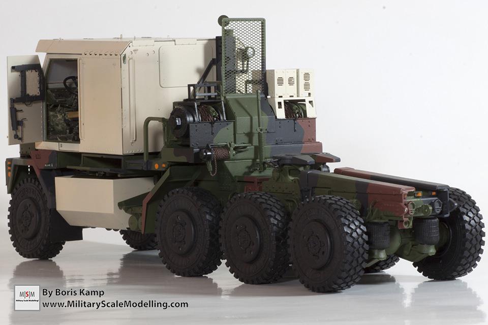 NATO painted CPK (M1070 Truck Transporter & M1000 HET)