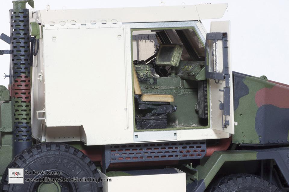Interior cabin CPK (M1070 Truck Transporter & M1000 HET)