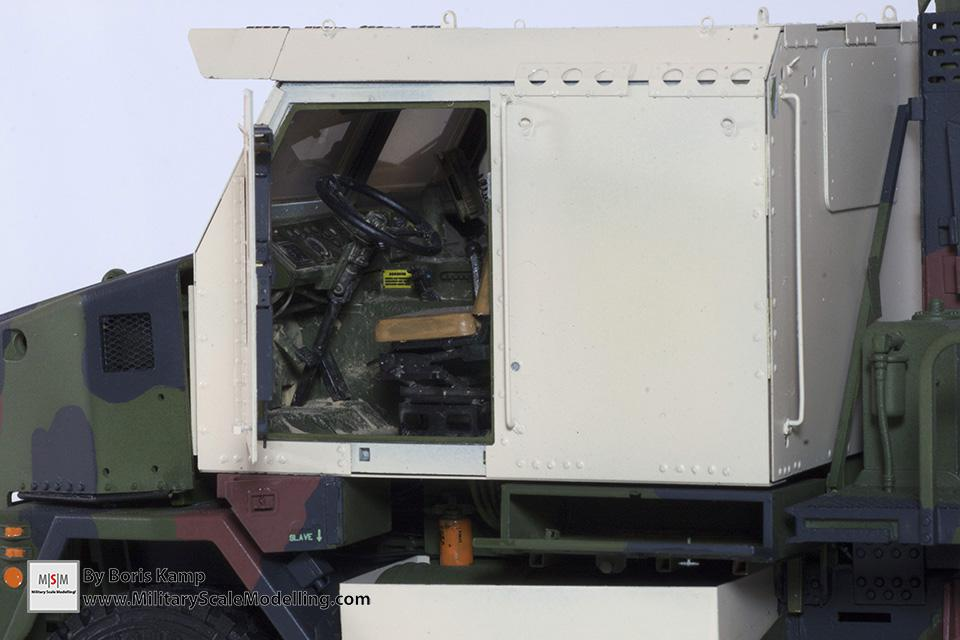 Interior driver side (M1070 Truck Transporter & M1000 HET)