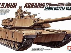 U.S. M1A1 Abrams Main Battle Tank (Tamiya 35156)