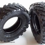 Rubber wheels detail GAZ 233014 STS Russian armored vehicle Meng VS 003 (By Boris Kamp)