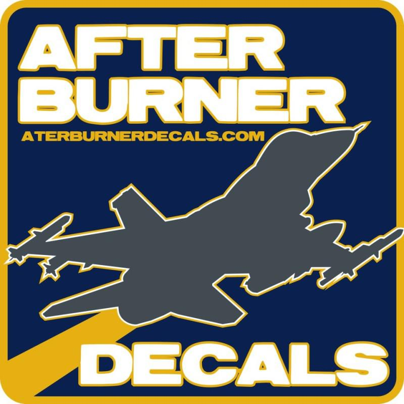 Logo-Afterburner Decals