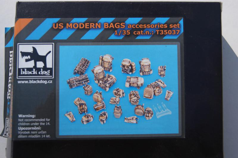US MODERN BAGS accessories set (Black Dog T35037)