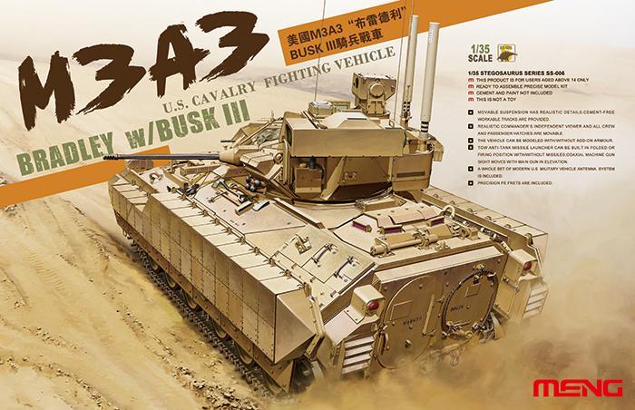 M3A3 Bradley w/BUSK III (Meng Model SS-006)