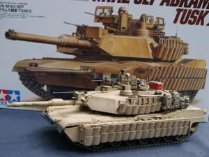 M1A2 SEP Abrams TUSK II (Tamiya 35326)