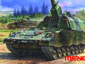 Panzerhaubitze 2000 German self-propelled howitzer (Meng Model TS-012)