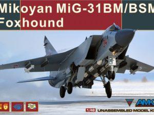 Mikoyan MiG-31BM/BSM Foxhound (AMK 88003)
