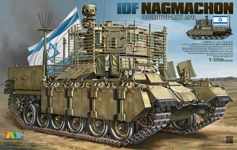 IDF Nagmachon Doghouse late apc (Tiger Model 4616)