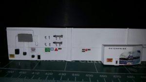 Part of a scratch-build of CVN-65,(USS Enterprise 1/350) hangar deck. I'll post a lot more pho