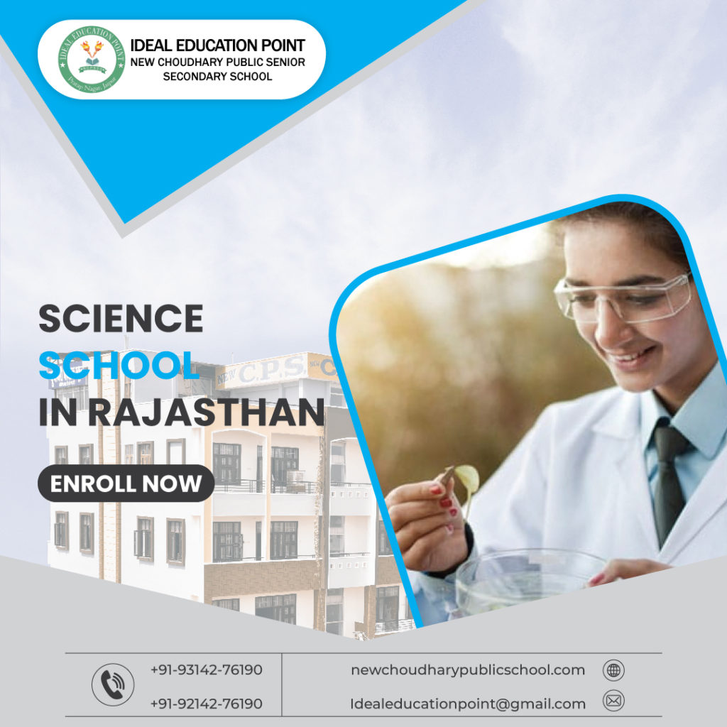 Ideal Education Point (New Choudhary Public School) is the perfect school for taking science. Our sc